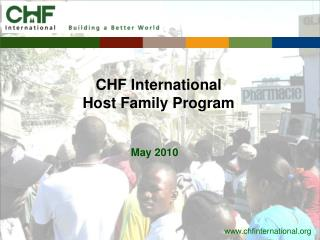 CHF International Host Family Program