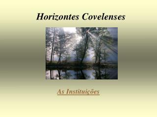 Horizontes Covelenses
