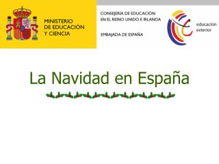 La Navidad en Espa�a