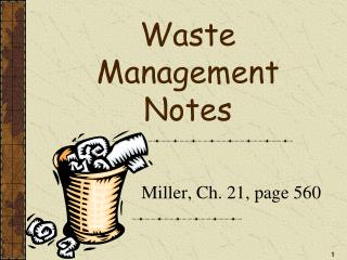 Waste Management Notes