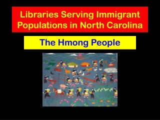 Libraries Serving Immigrant Populations in North Carolina