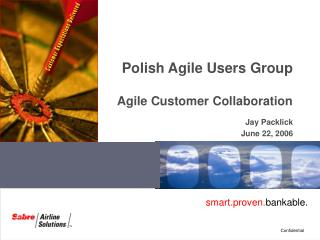 Polish Agile Users Group Agile Customer Collaboration