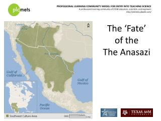 The 'Fate'  of the  The Anasazi