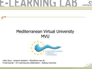 Mediterranean Virtual University MVU