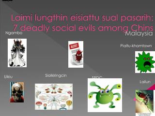 Laimi lungthin eisiattu sual pasarih : 7 deadly social evils among Chins