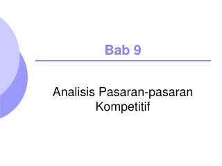 Bab 9