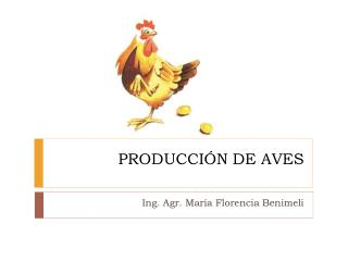 PRODUCCIÓN DE AVES