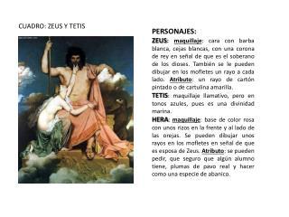 CUADRO: ZEUS Y TETIS