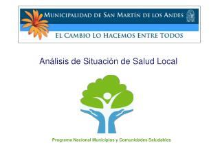 Análisis de Situación de Salud Local