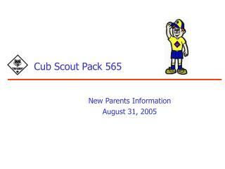 Cub Scout Pack 565