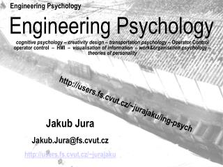 Engineering Psychology