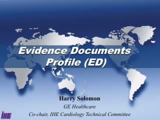 Evidence Documents  Profile (ED)