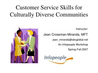 Customer Service Skills for Culturally Diverse Communities