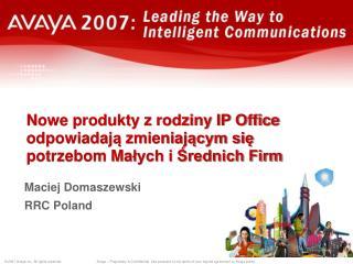 Maciej Domaszewski RRC Poland