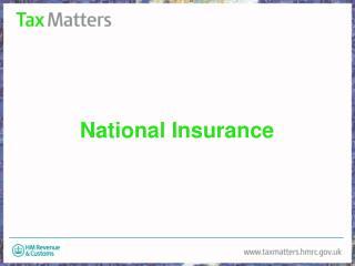 National Insurance