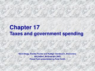Chapter 17 Taxes and government spending
