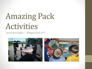 Amazing Pack Activities