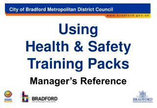 Using  Health & Safety Training Packs