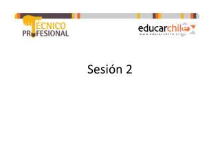Sesión 2