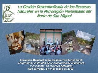 Encuentro Regional sobre Gestión Territorial Rural