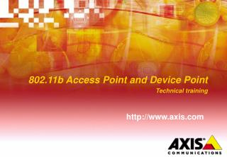 802.11b Access Point and Device Point Technical training