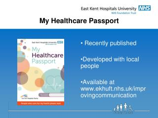 My Healthcare Passport