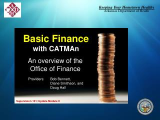 Basic Finance with CATMAn