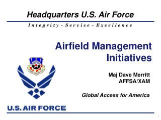 Maj Dave Merritt AFFSA/XAM