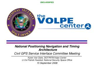National Positioning Navigation and Timing  Architecture