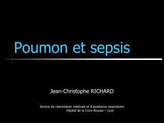 Poumon et sepsis