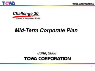 Mid-Term Corporate Plan