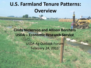 U.S. Farmland Tenure Patterns: Overview