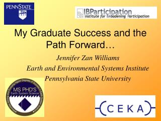 My Graduate Success and the Path Forward