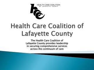Health Care Coalition of Lafayette County
