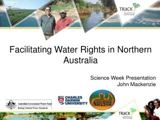 Facilitating Water Rights in Northern Australia