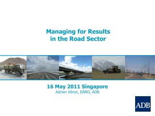 Managing for Results in the Road Sector