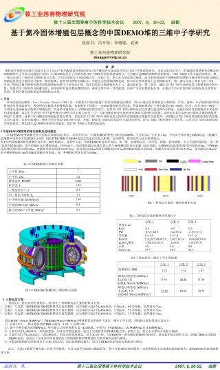 张国书,冯开明,李增强,袁涛 核工业西南物理研究院 zhanggs@swip.ac