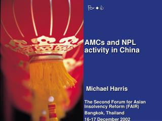 AMCs and NPL activity in China