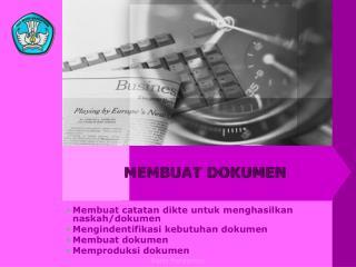 MEMBUAT DOKUMEN