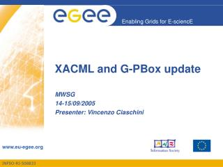 XACML and G-PBox update