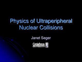 Physics of Ultraperipheral Nuclear Collisions