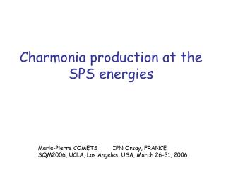 Charmonia production at the SPS energies