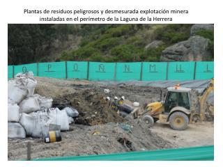 Rio Bogotá- Contaminación causada por el Hombre