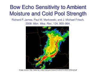 Bow Echo Sensitivity to Ambient Moisture and Cold Pool Strength