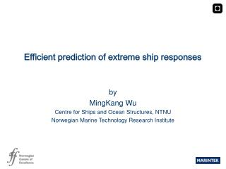 Efficient prediction of extreme ship responses