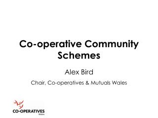 Co-operative Community Schemes