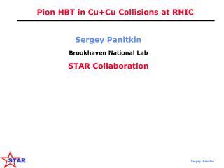 Pion HBT in Cu+Cu Collisions at RHIC