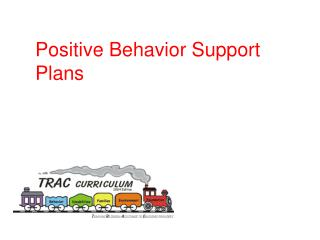 Positive Behavior Support Plans