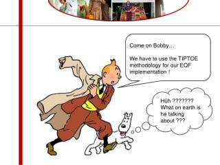 Come on Bobby… We have to use the TIPTOE methodology for our EQF implementation !