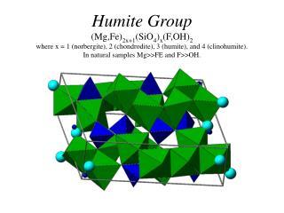 Humite End-Members